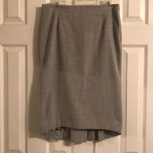 Express Design Studio Grey Skirt